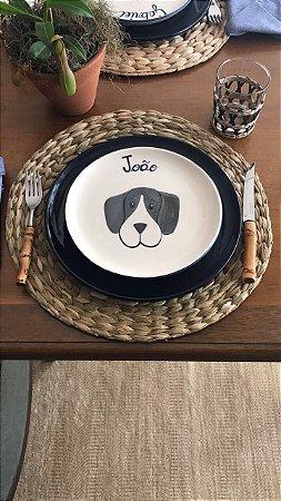 Prato Sobremesa Dog 1 Personalizado