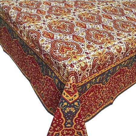Toalha de mesa Indiana quadrada (1,80 x 1,80)
