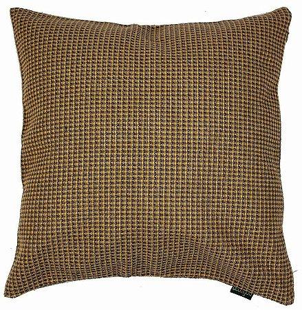 Almofada Amarela Texturizada 45x45