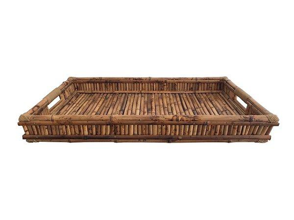 Bandeja Bambu Sem vidro