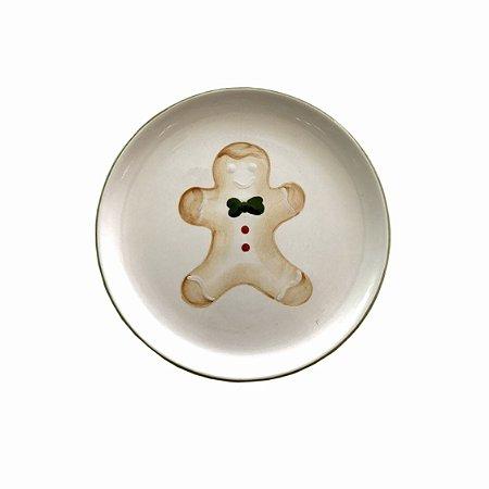 Prato Sobremesa Gingerbread