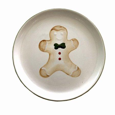 Prato Gingerbread Raso