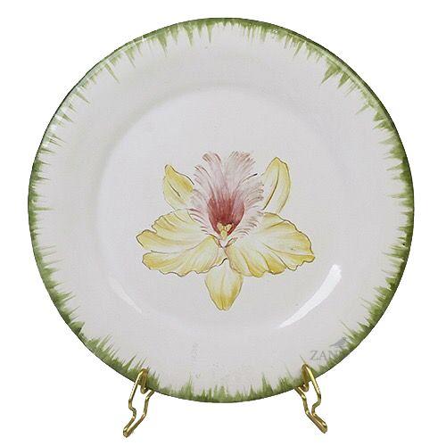 Prato sobremesa Orquídea 1 Zanatta Casa