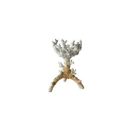 Castiçal de Coral (médio)