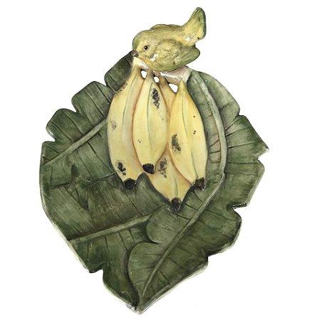 Petisqueira de Banana com Passarinho