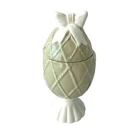 Ovo de Cerâmica com Laço