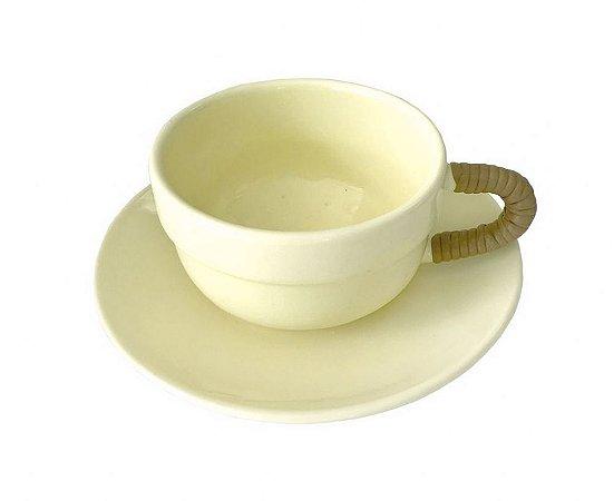 Xícara de Chá Amarela