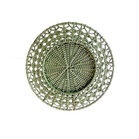 Sousplat Vime Verde Celadon