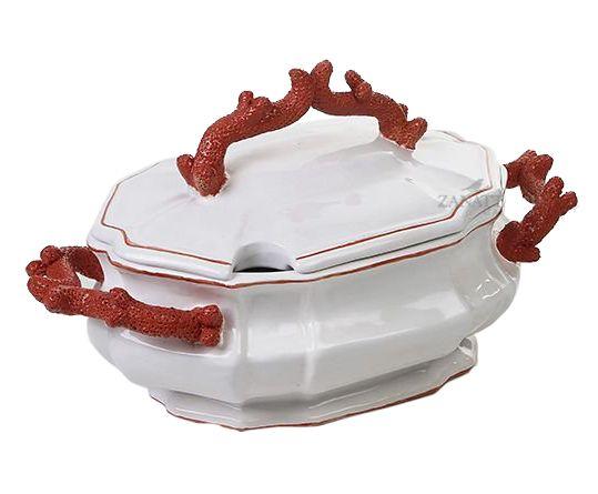 Sopeira de cerâmica Coral Zanatta Casa