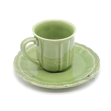 Xícara de Chá Verde Celadon (com 2)