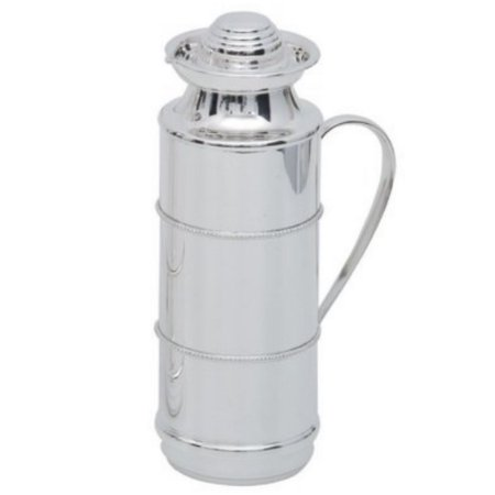 Garrafa Termica Pérola em Prata 1 litro