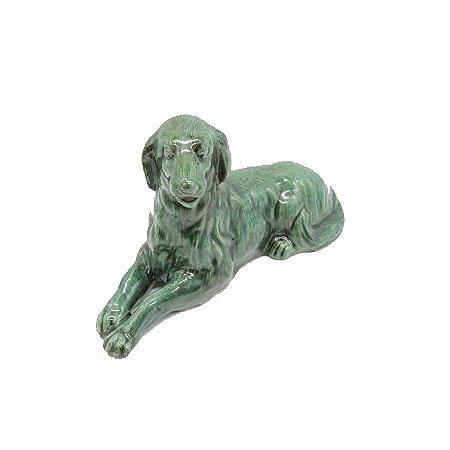 Cachorro Labrador Em Cerâmica