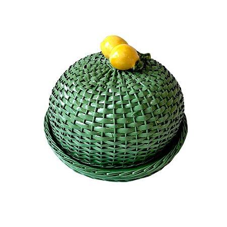 Boleira de Vime de Limão Siciliano