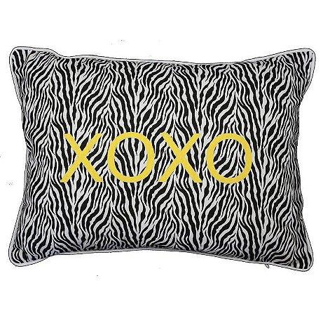 Capa de Almofada Zebra XOXO