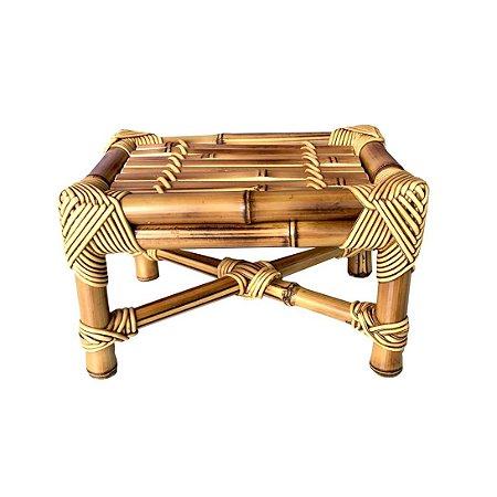 Banqueta de Bambu natural M