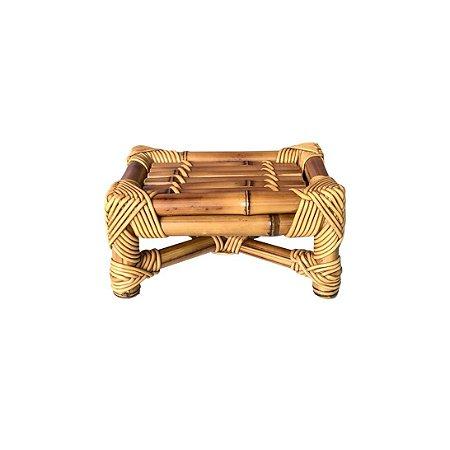 Banqueta de Bambu natural P