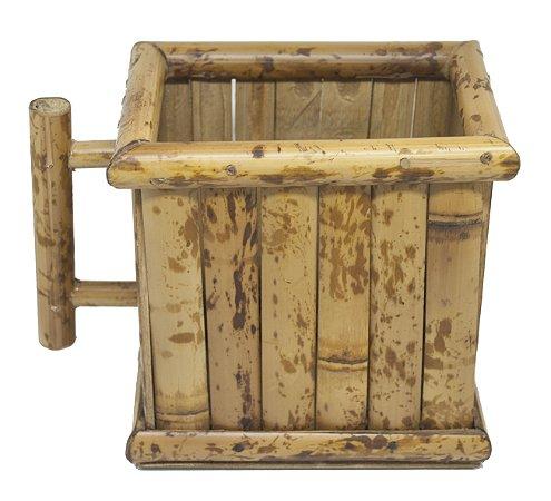 Porta Leite de Caixinha De Bambu