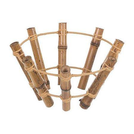 Porta Coco de Bambu