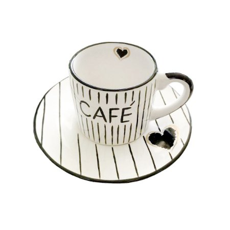 Xícara de Café Coração (jogo 3)