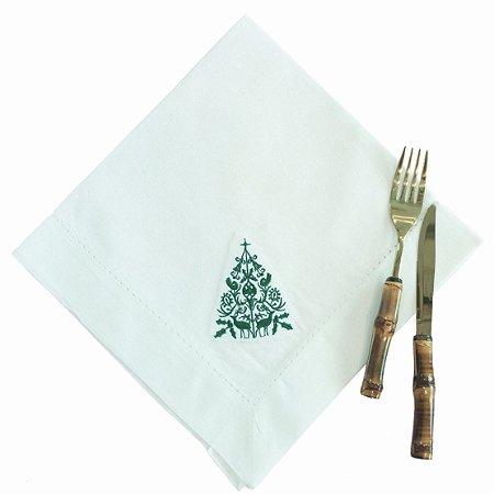 Guardanapo Linho Árvore de Natal
