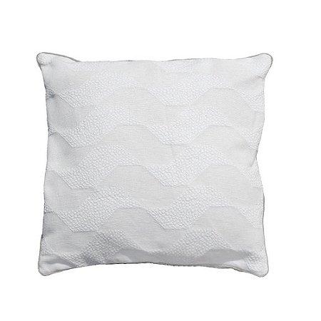 Capa deAlmofada SP branca 48x48 cm