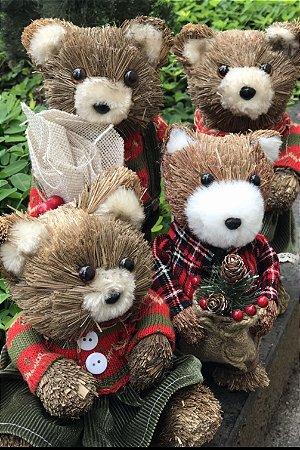 Família Ursos de Natal