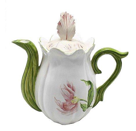 Bule de tulipa rosa Zanatta Casa