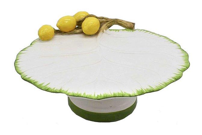 Boleira cerâmica costela adão e limão siciliano Zanatta Casa