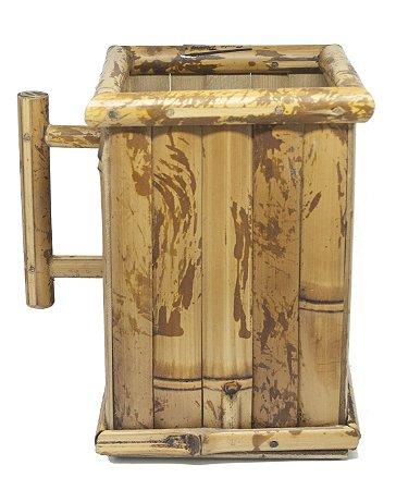 Porta Suco de Bambu