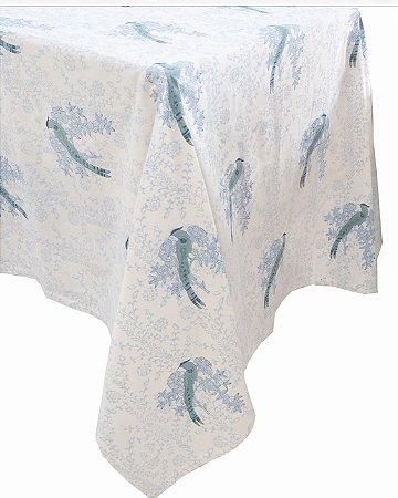 Toalha de Mesa Blue Birds 4m
