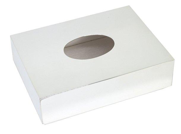 Caixa Para Lenço de Papel em Prata P