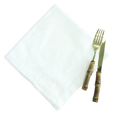Guardanapo Abacaxis Brancos