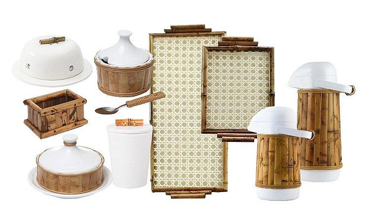 Kit Bambu Café Completo