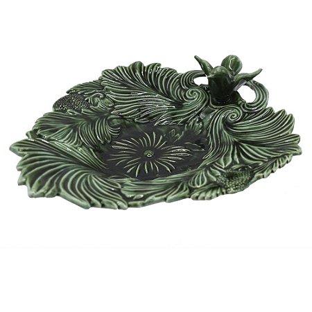 Folha de cerâmica Com Pássaro zanatta casa