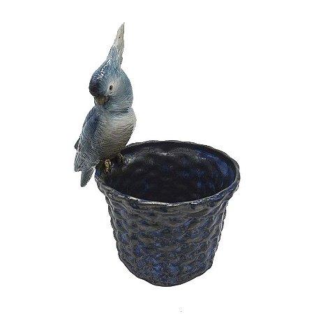 Cachepot Cestaria P Azul Calopsita