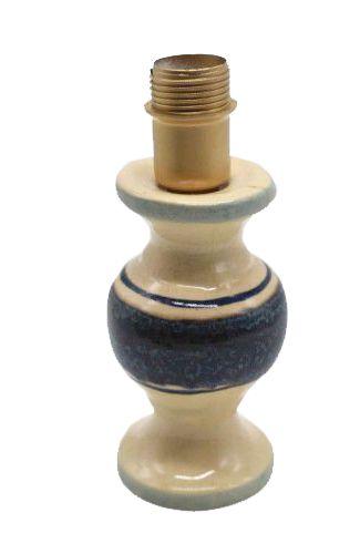 Mini base de Abajur Lista Azul