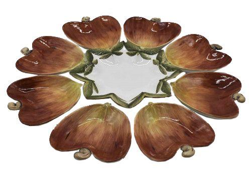 Petisqueira destacável de Caju em cerâmica Zanatta Casa