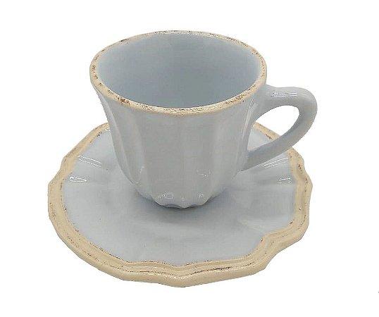Xícara de chá Azul Claro Zanatta Casa