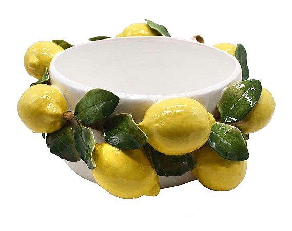 Cachepot Limões Sicilianos Zanatta Casa
