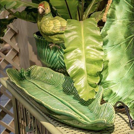 Folha de bananeira em cerâmica GG