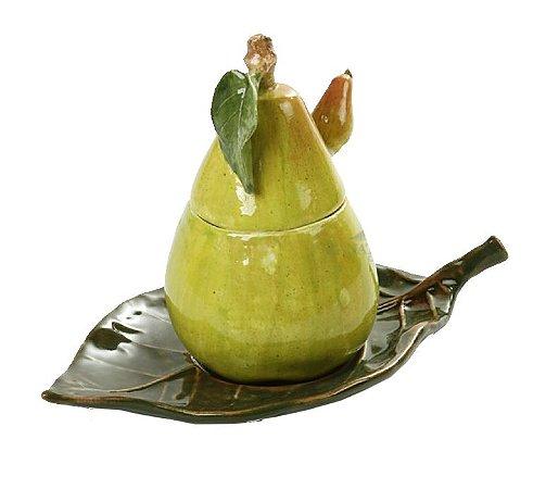 Porta geleia pera