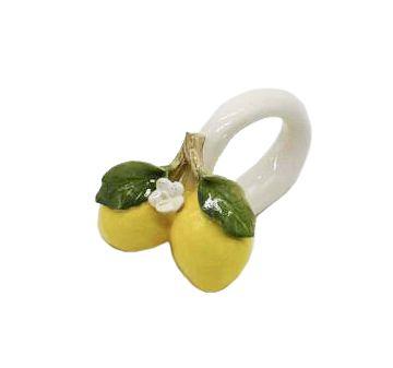 Porta guardanapo dois limões sicilianos Zanatta Casa
