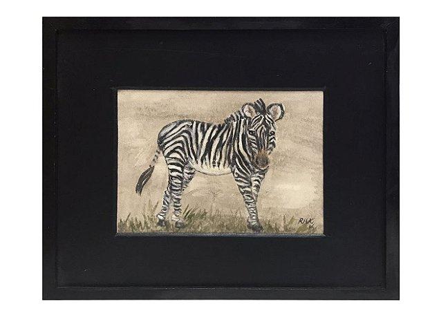 Quadro zebra horizontal