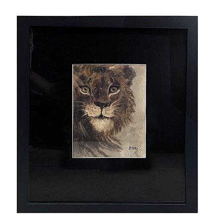 Quadro leão 2