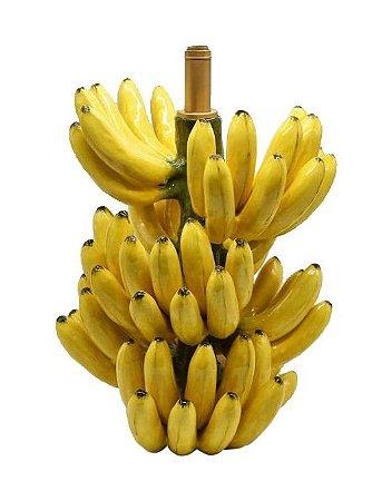Base de abajur de bananas