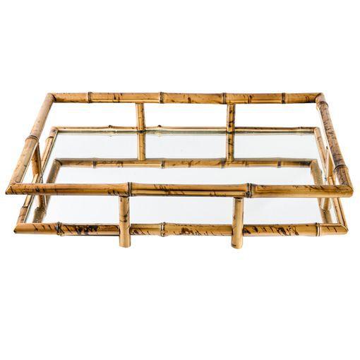 Bandeja Bambu Espelhada