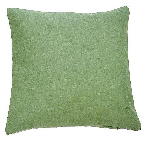 Capa de Almofada lona verde militar