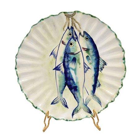 Prato sobremesa sardinha (cj 2)