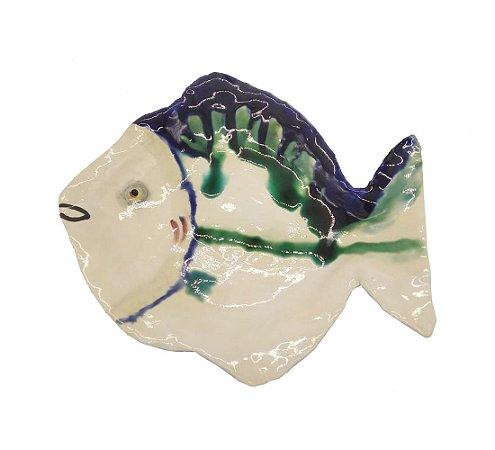 Petisqueira peixe alabastro M Zanatta Casa