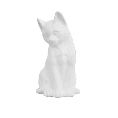 Gato de faiança (23 cm)